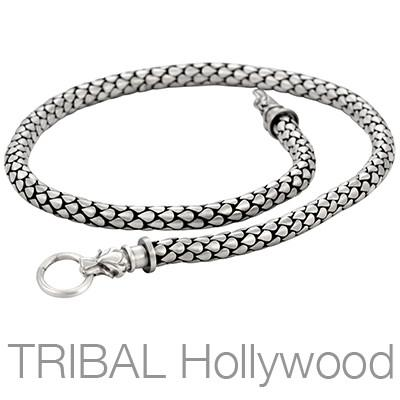 DRACO WOLF'S FANG Thick Width Necklace Chain by Bico Australia | Tribal Hollywood
