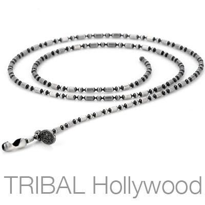 MANSION Silver Ball Chain | Tribal Hollywood