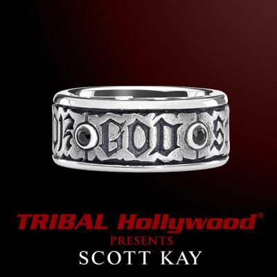THE CODE Sterling Silver Ring for Men by Scott Kay