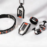 Hollis Bahringer Carbon Fiber Collection Mens Jewelry