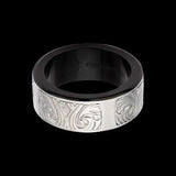 Hollis Bahringer Stainless Steel Triumph Mens Ring 1
