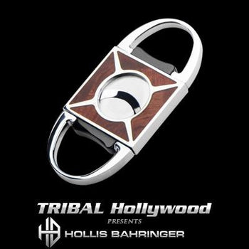 Hollis Bahringer Palisander Cigar Cutter Rosewood and Steel