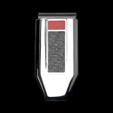 Hollis Bahringer Carbon Fiber Money Clip in Black Steel 1