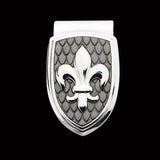 Hollis Bahringer French Quarter Fleur De Lis Money Clip Front View