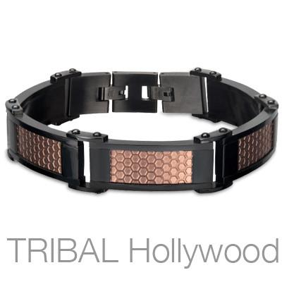 Honeycomb Men's Bracelet