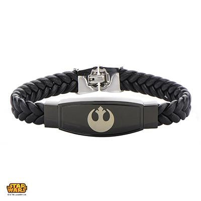Star Wars Mens Bracelet ALLIANCE STARBIRD in Black Steel