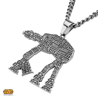 Star Wars AT-AT WALKER Stainless Steel Necklace for Men