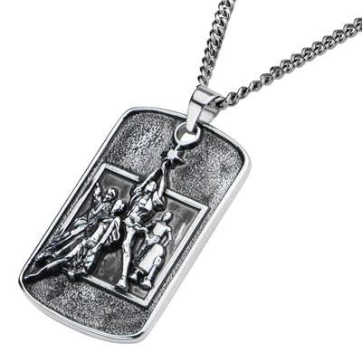 Star Wars Movie Poster Stainless Steel 3D Dog Tag Necklace