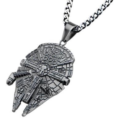 Star Wars Millennium Falcon Stainless Steel Necklace