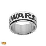 STAR WARS Mens Spinner Ring in Stainless Steel Alt View