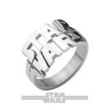 STAR WARS CUT-OUT Stainless Steel Logo Ring for Men