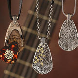 William Henry Zac Brown Guitar Pick Holder Necklaces 1