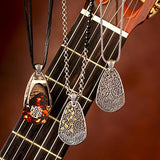 William Henry Zac Brown Guitar Pick Holder Necklaces 2