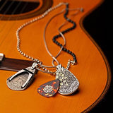William Henry Zac Brown Guitar Pick Holder Necklaces Guitar 1