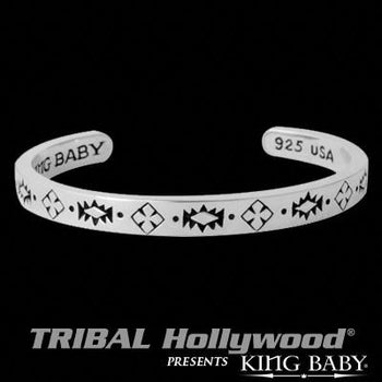 Native Cross Cuff Bracelet for Men by King Baby