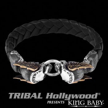 A Must-Have Skull Bracelet at Tribal Hollywood Jewelry for Men