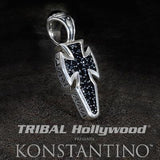 Konstantino X-Small Maltese Dagger Cross Necklace Pendant