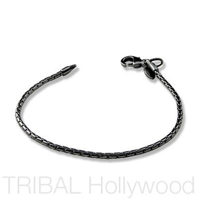 LUCKY STRIKE Gunmetal Black Bracelet | Tribal Hollywood