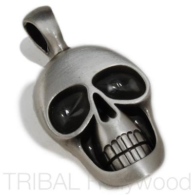 MORTY Skull Pendant in Silver