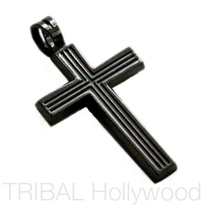 VEGAS ALL BLACK CROSS in Gunmetal