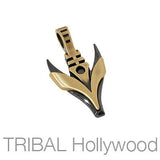KILLER BEE Pendant in Brass and Gunmetal | Tribal Hollywood