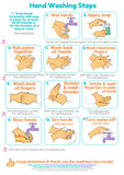 FREE Poster_How To Wash Hands Lyrics Posters for all the family