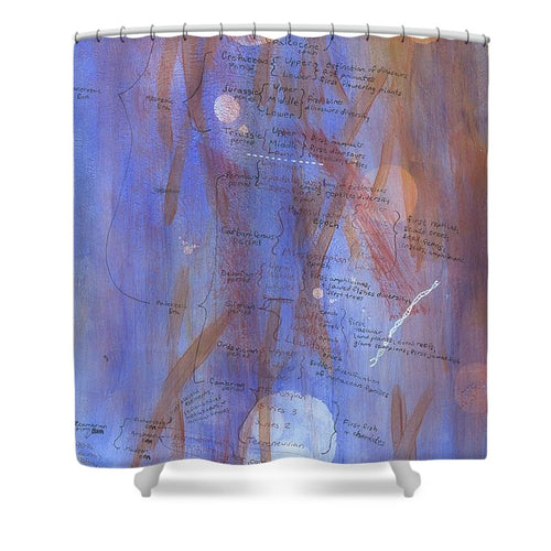 A Vastness Gone By - Shower Curtain