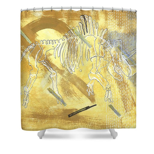 Coelodonta Antiquitatis - Shower Curtain