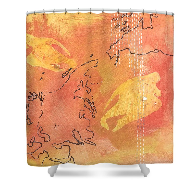 Indricotherium II - Shower Curtain