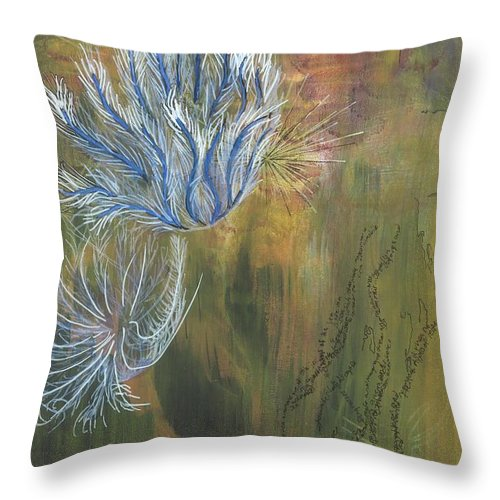 Mutualism Coral Reef - Throw Pillow