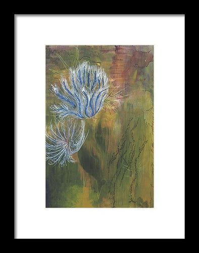 Mutualism Coral Reef - Framed Print