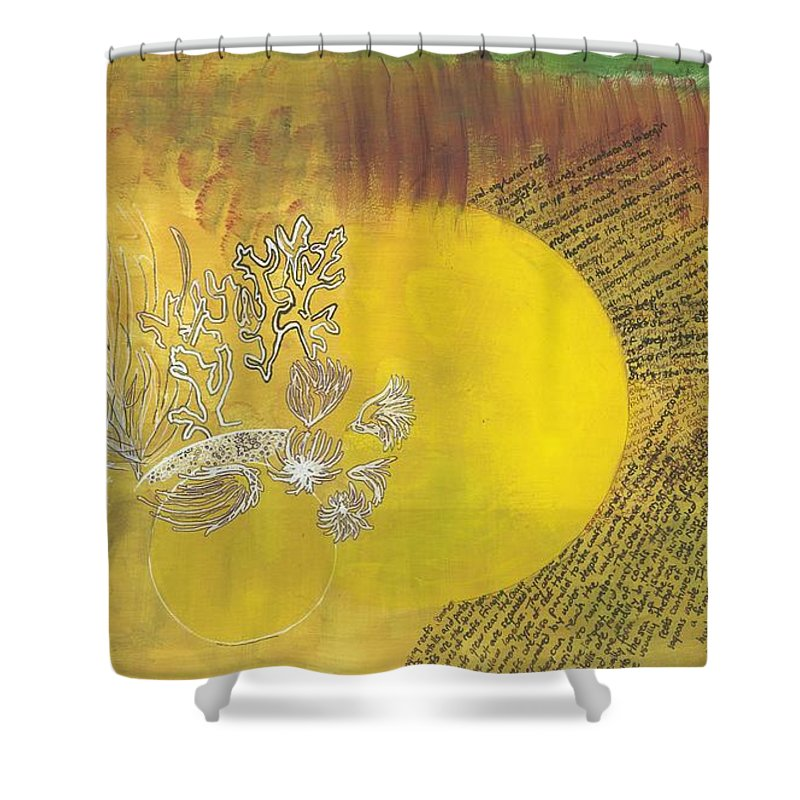 Mutualism Coral Reef II - Shower Curtain