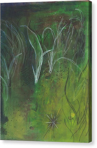 Mutualism Seagrass Beds - Canvas Print