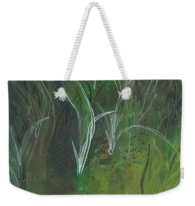 Mutualism Seagrass Beds - Weekender Tote Bag