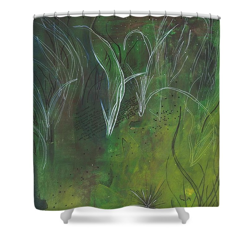 Mutualism Seagrass Beds - Shower Curtain