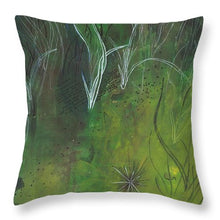 Mutualism Seagrass Beds - Throw Pillow