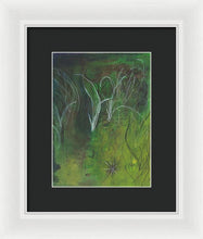 Mutualism Seagrass Beds - Framed Print