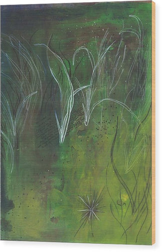 Mutualism Seagrass Beds - Wood Print