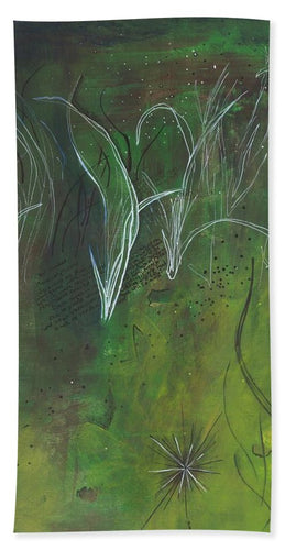 Mutualism Seagrass Beds - Beach Towel