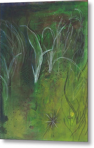 Mutualism Seagrass Beds - Metal Print