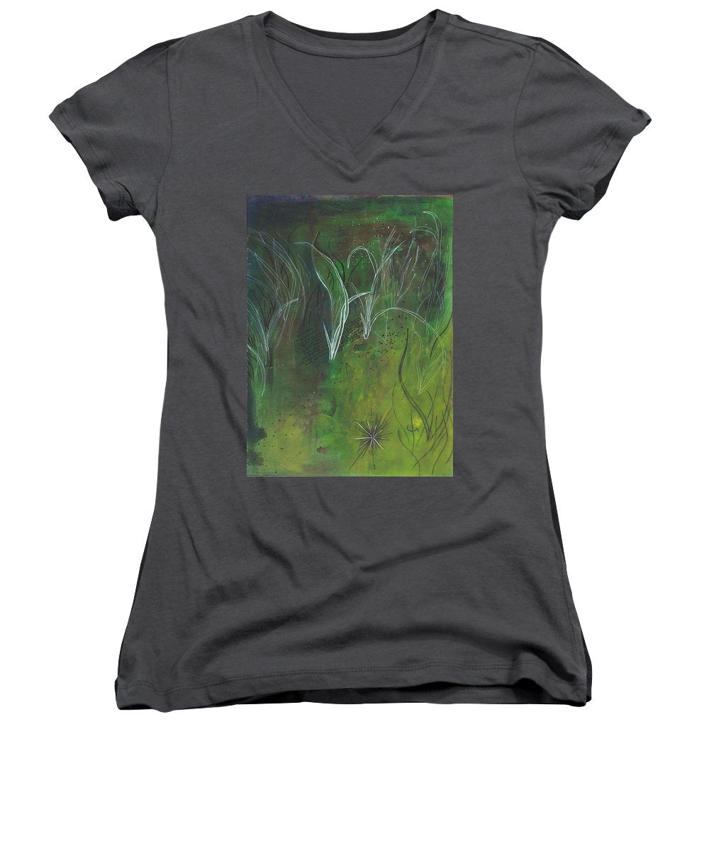 Mutualism Seagrass Beds - Women's V-Neck T-Shirt