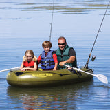 Airhead Angler Bay Inflatable Boat 3 Persons - Camp Champs Club