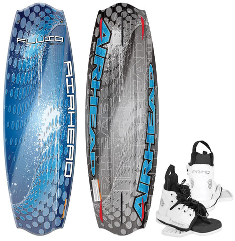 Airhead Fluid Wakeboards With Primo Bindings - Camp Champs Club