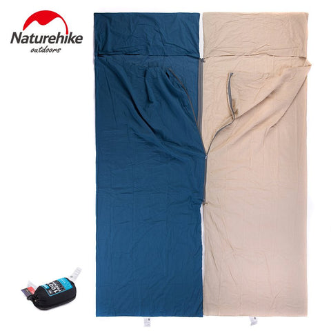 Nature Hike Cotton Sleeping Bag - Camp Champs Club