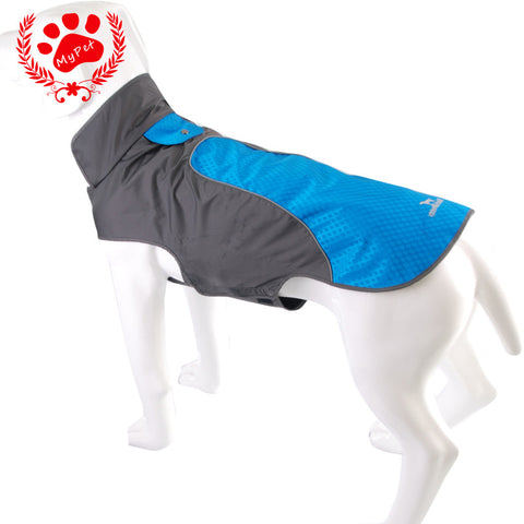 BlackDoggy Waterproof Reflective Strip Dog Jacket - Camp Champs Club
