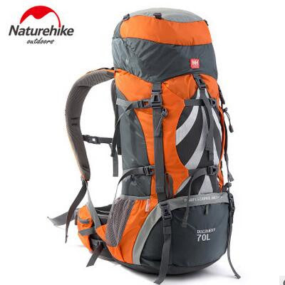 NatureHike 70L Travelling Hiking Waterproof Backpack - Camp Champs Club