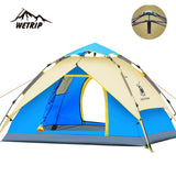 Gazelle Outdoors 3-4 Persons Automatic Double Layer Tent - Camp Champs Club