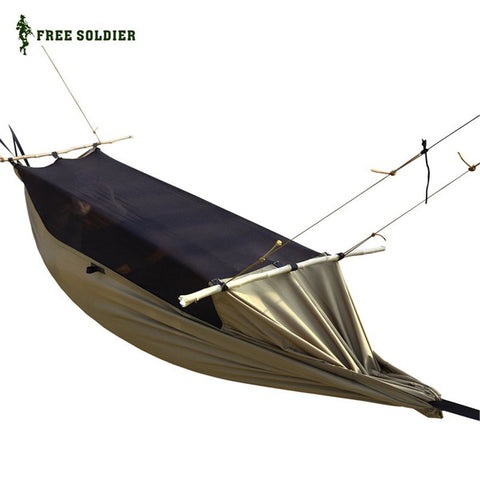 FREE SOLDIER Military Hammock Tent With Anti Mosquito Net Mesh - Camp Champs Club