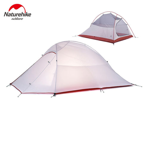 NatureHike 2 Person Tent Ultralight 20D Silicone Fabric - Camp Champs Club