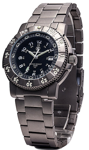 Smith & Wesson 357 Series - Executive Watch - Titanium - SWISS TRITIUM - Camp Champs Club